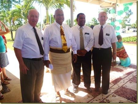Elder H Sione Inoke Elder Checketts at Liahona (3)