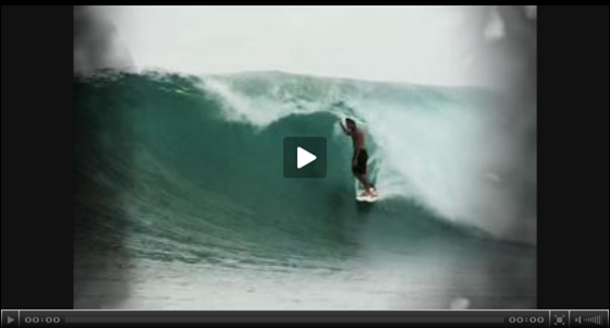 Bruce Irons Indonesia getaway