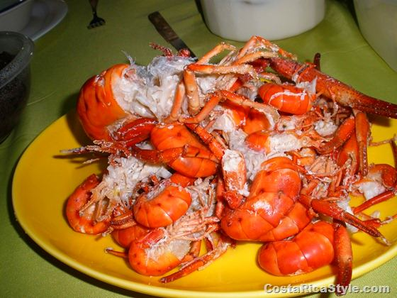 River shrimp - camaron de rio