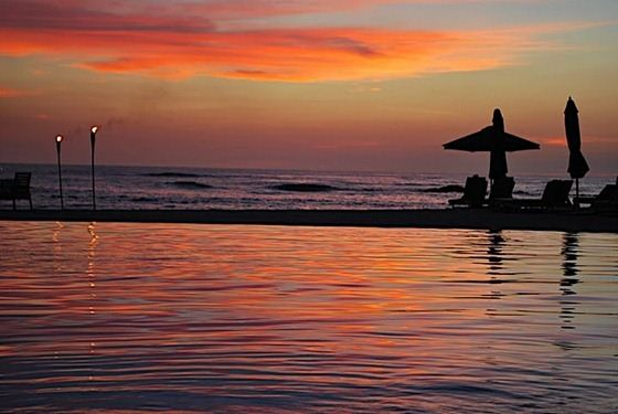 jw marriott resort spa guanacaste costa rica pool beach sunset 1