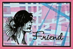 Friend Tape Masking Card