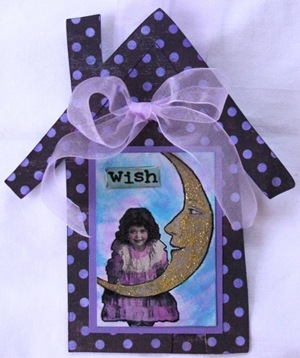 2010 10 LRoberts ATCs House Door Hanger Wish for the Moon