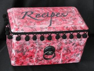 2010 10 LRoberts Recipe for Fashion 02 Recipe Box