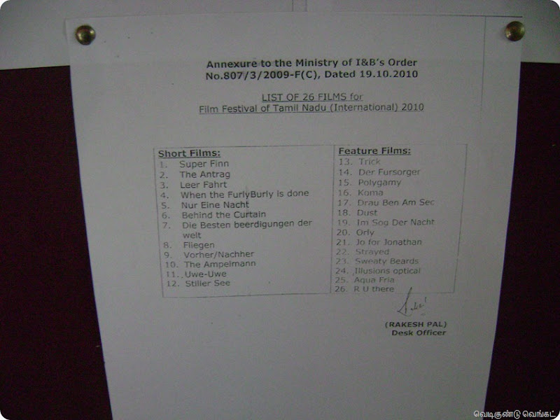 FFOTNI 28102010 Film List