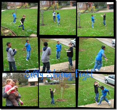 3.23.2010 Silly String Fight