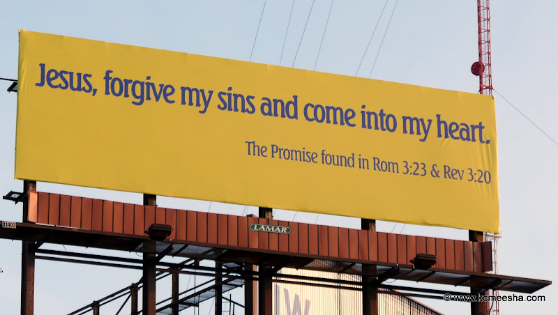 Everything I Know About Religion Ive Learned From Billboards