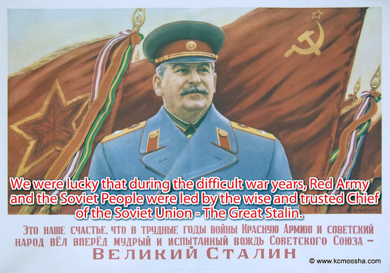 Behind The Iron Curtain Stalin In Posters
