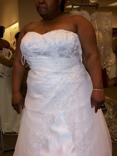 Big Deal Plus Size Bridal Gown