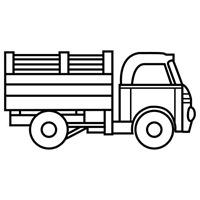 jugarycolorear.com- Camión