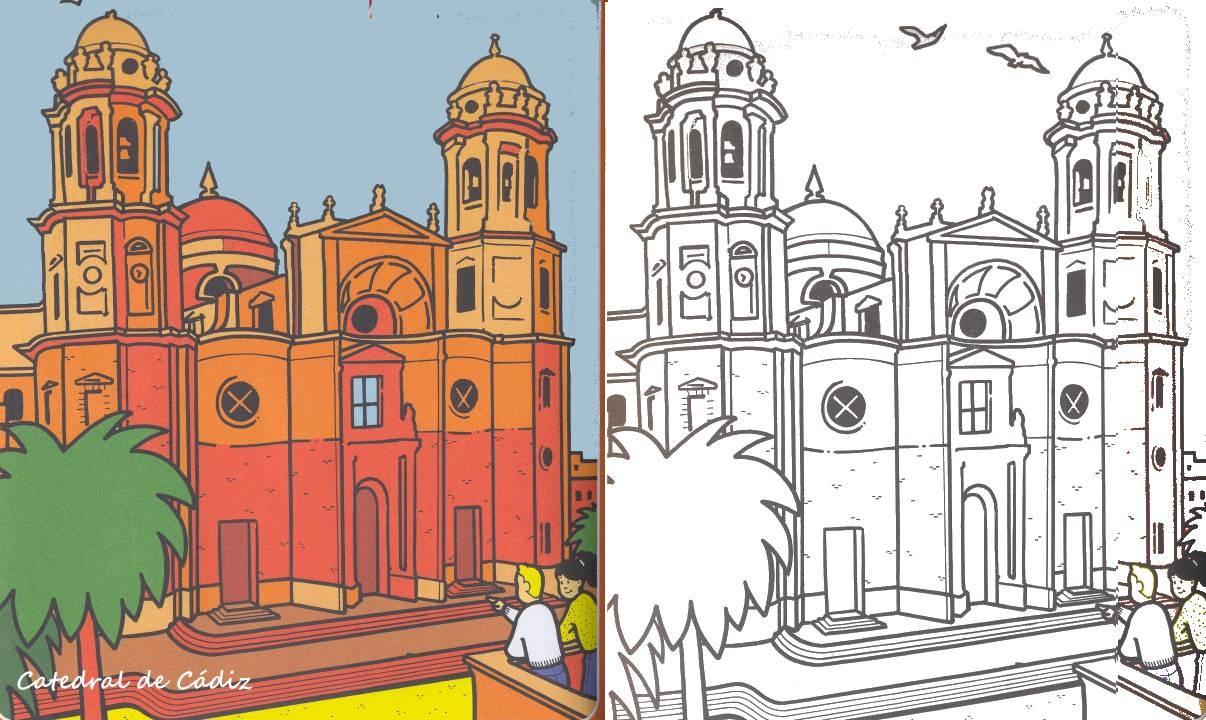 Dibujos De Cuenca Catedral