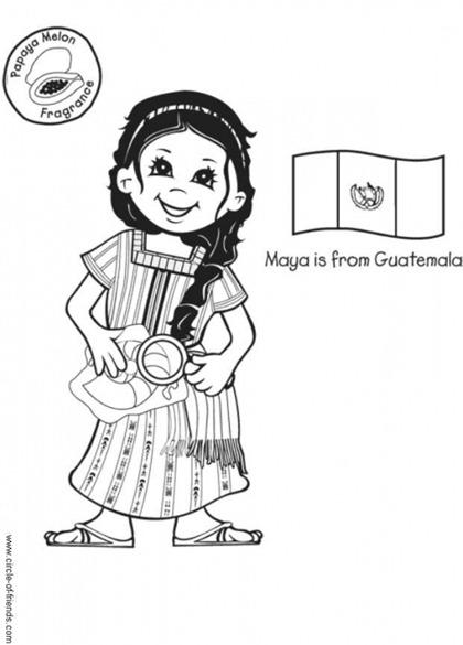 niña maya guatemala