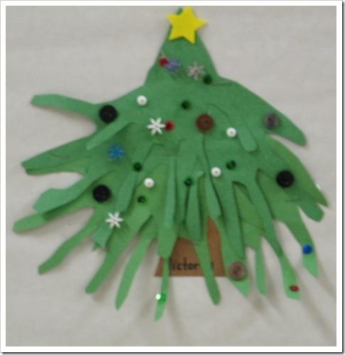 manualidades navidad huella manos (12)