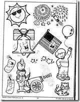 summer- verano, dibujos para colorear (4)