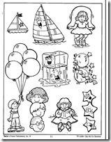 summer- verano, dibujos para colorear (5)