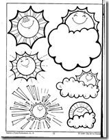summer- verano, dibujos para colorear (6)