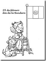 dia de la bandera mexico jugarycolorear (2)