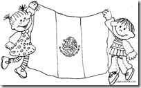 Colorear dibujos da 24 de Febrero da de la Bandera