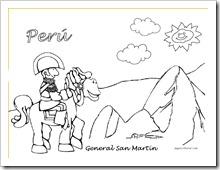 general san martin 6  jugarycolorear