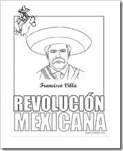 pancho villa revolucion jugar y colorear (4)