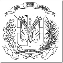 escudo_dominicano_para_colorear