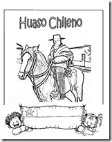 huaso chileno blogcolorear (1)
