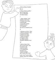 blogcolorear - himno nacional venezuela 1 colorear