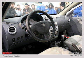 گزارش تصویری از رونمایی دومین خودروی ملی ، رونا