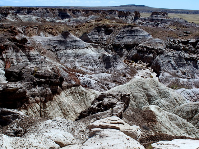 Petrified Forest National Park Blue Mesa Loop Drive