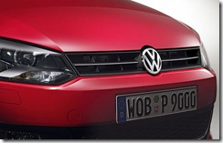 Frente do Novo Volkswagen Polo