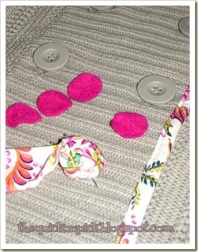 rosette buttons
