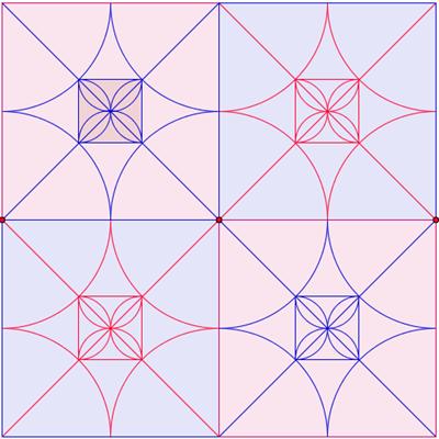 Matematicamedie mattonelle e pavimento for Disegni unici del pavimento