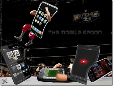 War of the phones - MobileSpoon