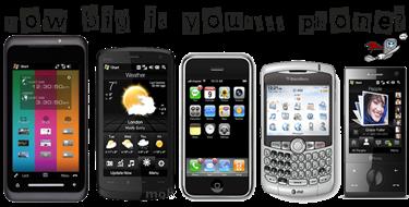 HowBigIsYourPhone