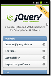 jquerymobile