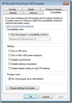 VisualStudioSettings