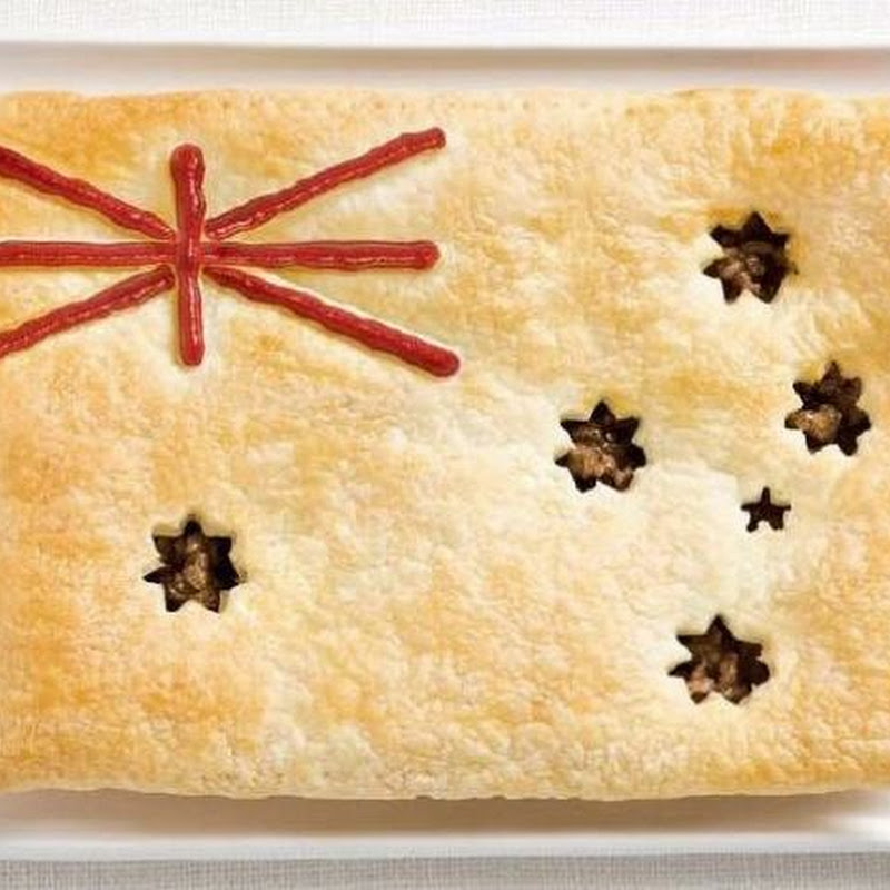 Flags from Food
