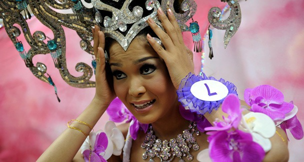 THAILAND-LIFESTYLE-TRANSSEXUALS-PAGEANT