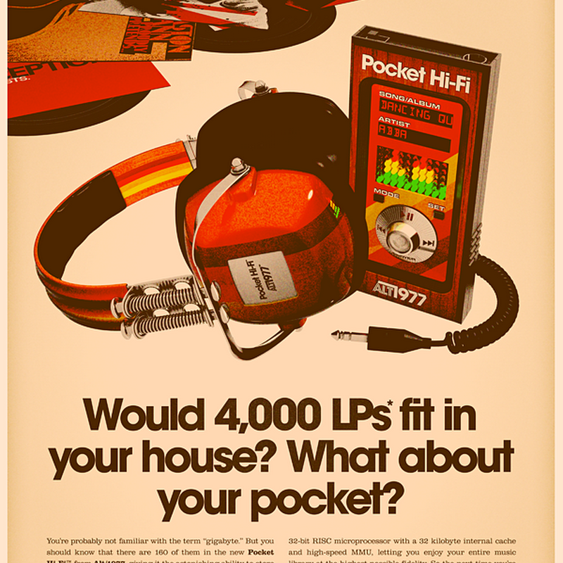 What if Today's Gadgets Been Made in the 70s?