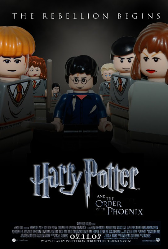 Movie Posters Recreated in Lego image gallery