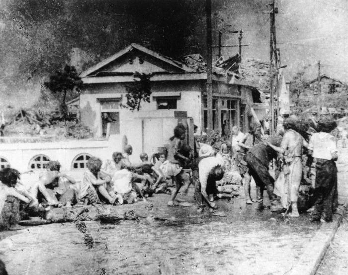 WWII A-BOMB SURVIVORS HIROSHIMA