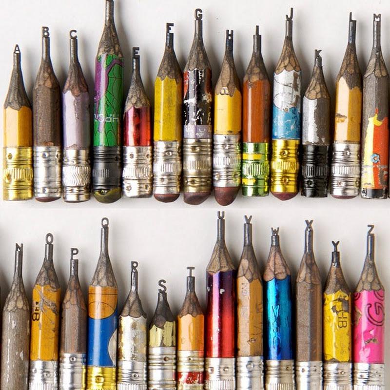 Dalton Ghetti Creates Amazing Sculptures On Tips of Pencils