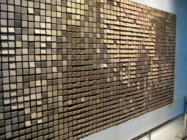 Wooden Mirrors By Daniel Rozin Amusing Planet