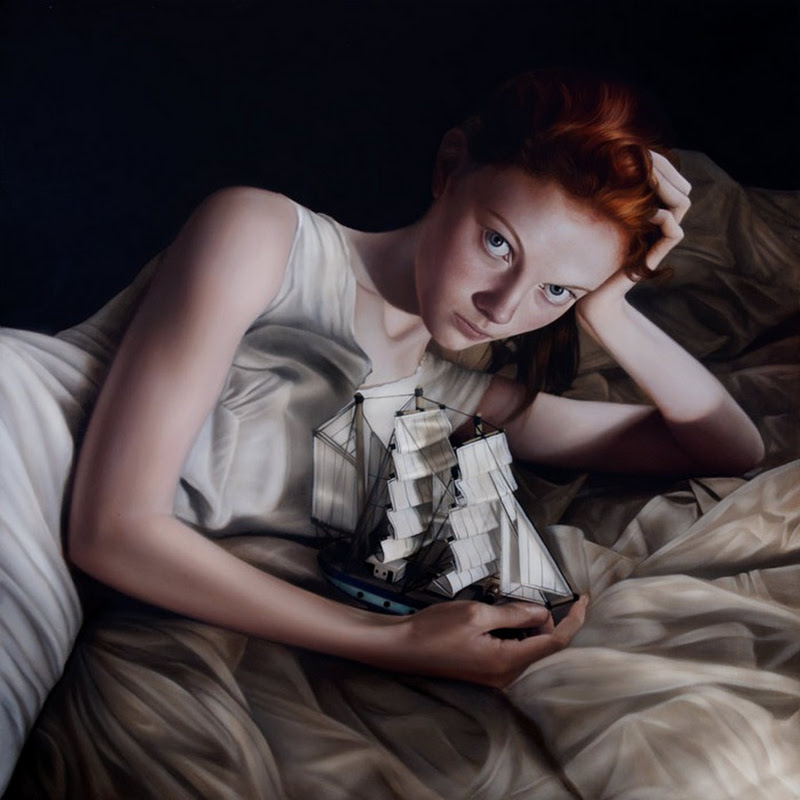 Gorgeous Paintings by Mary Jane Ansell