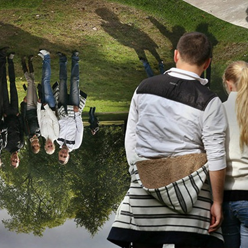 The World Upside Down by Anish Kapoor