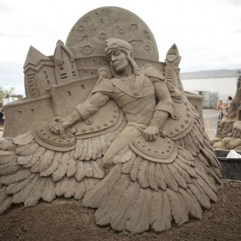 World Championship of Sand Sculpting, Washington