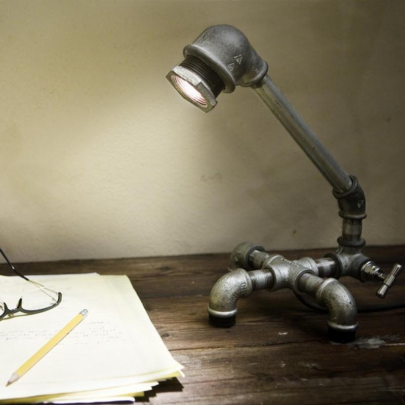 KOZO Lamps: A Plumber's Dream Lamp