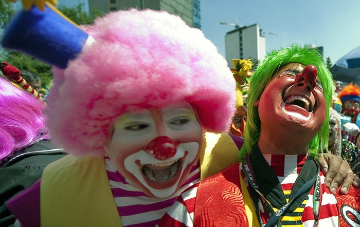 MEXICO-CLOWNS-CONVENTION