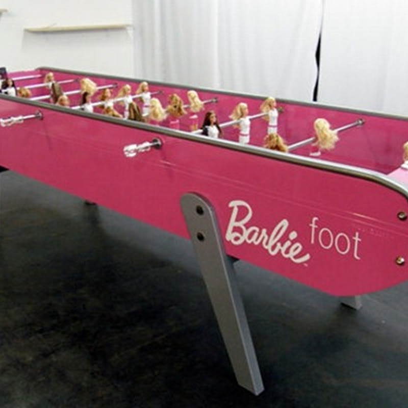Barbie Foot: Soccer Table for Females