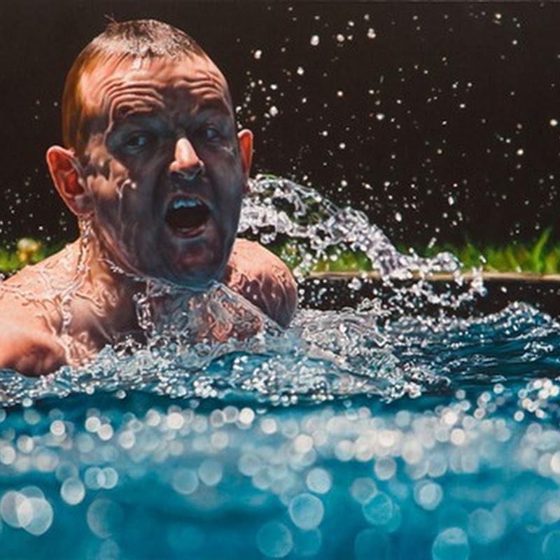 Movie Like Hyper-Realistic Paintings by Damian Loeb