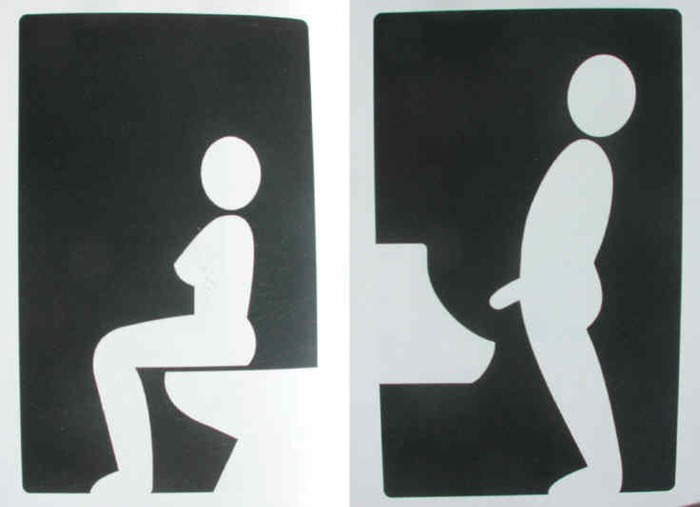 toilet signs  35. Creative and Funny Toilet Signs from Around the World   Amusing Planet